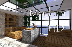 Minecraft Modern HD Texture Pack 1.5.2