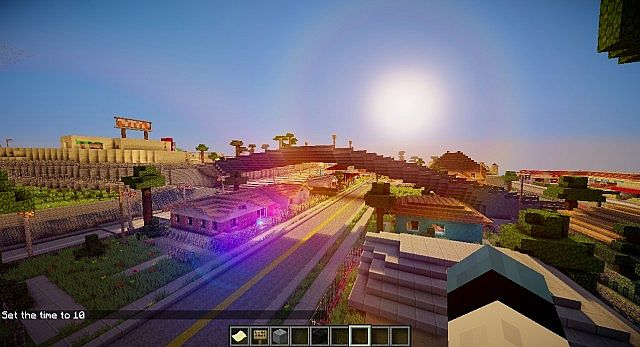 Minecraft GTA San Andreas MAP Free Download !