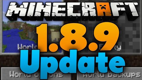 Minecraft 1.8.9 Official Download