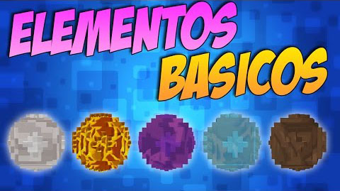 Basic Elements Mod 1.11.0/1.10.2/1.9.4