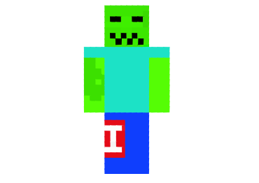 Cartoon Zombie Skin