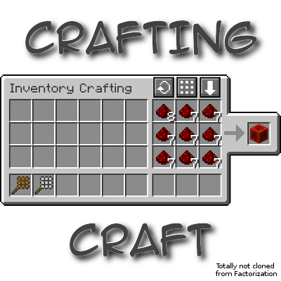 CraftingCraft Mod 1.11.0/1.10.2/1.7.10