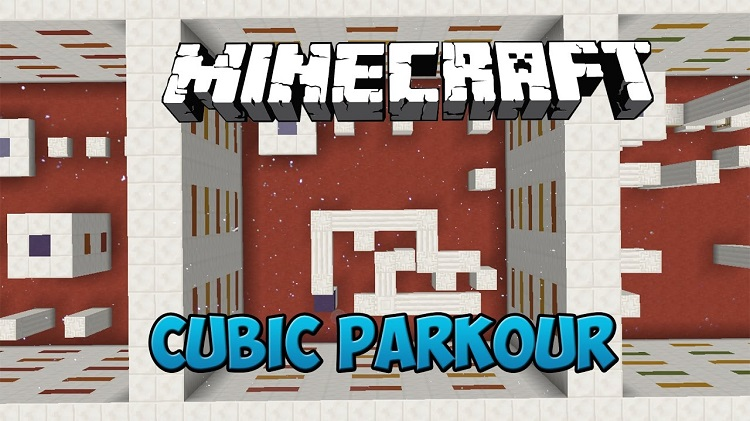 Cubic Parkour Map for Minecraft 1.10.2