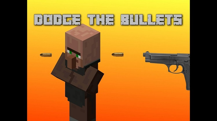 Dodge the Bullets Map for Minecraft 1.10.2