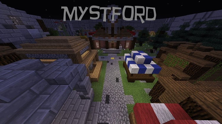 Mystford Adventure Map for Minecraft 1.11/1.10.2