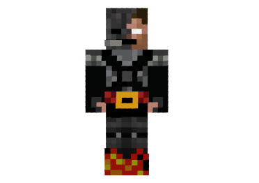 Witherbrine on Fire Skin
