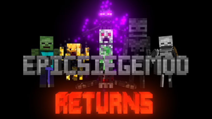 Epic Siege Returns Mod 1.11.2/1.10.2/1.7.10 Download