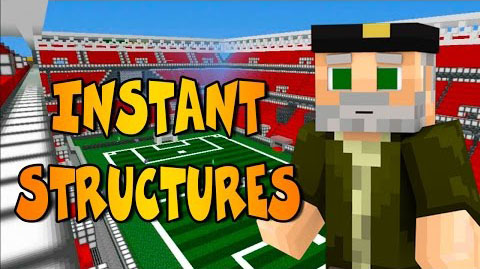 Instant Massive Structures Mod 1.11.2/1.10.2 Download