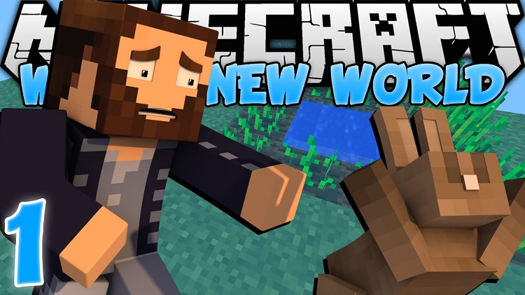 New World Survival Map 1.11.2/1.10.2 Download