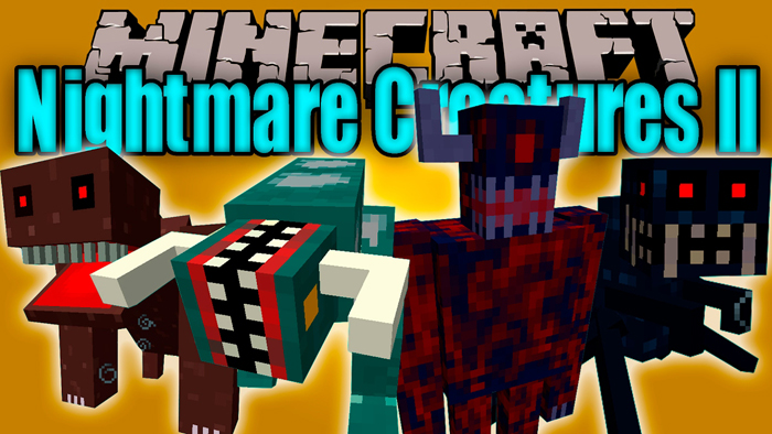 Nightmare Creatures Mod 1.7.10 Download