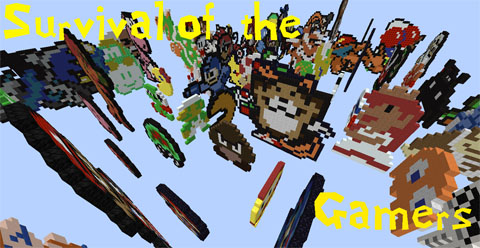 Survival of the Gamers Map 1.10.2