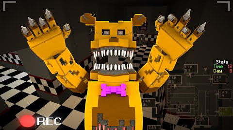 Five Nights At Freddy's 3 Map 1.8.9