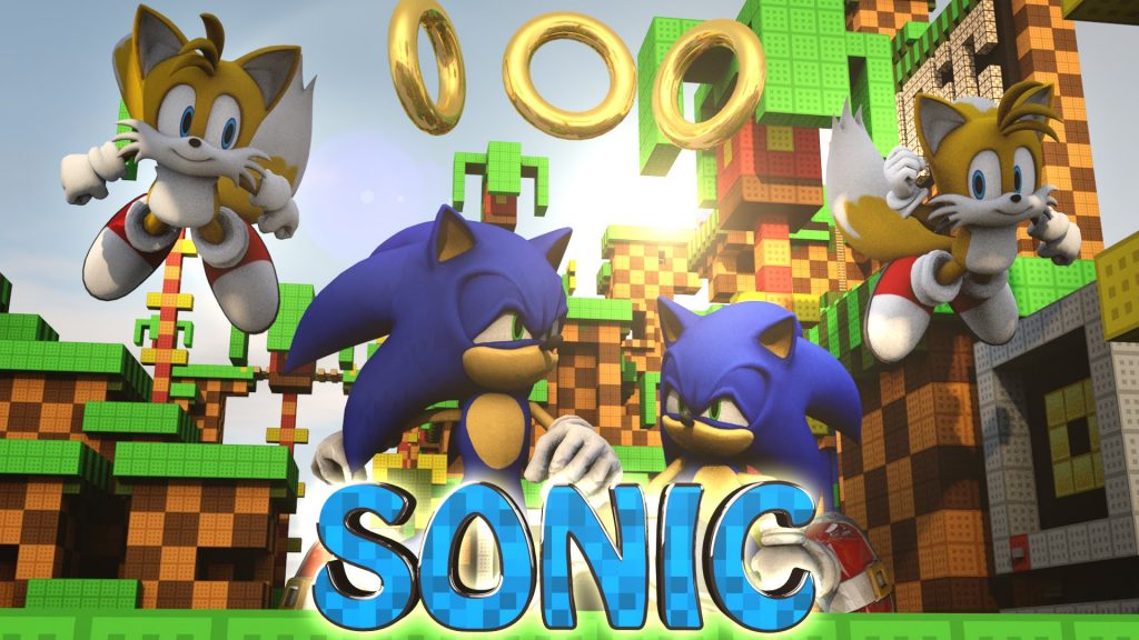 Sonic The Hedgehog Mod 1.7.10