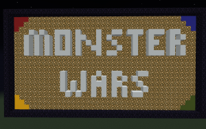 Minecraft Monster Wars Map 1.12.2/1.12 Download