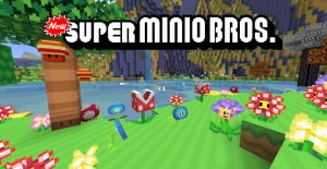 Minecraft New Super Minio Bros Resource Pack 1.12.2/1.11.2 Download