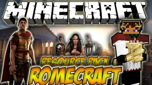 Minecraft RomeCraft Resource Pack 1.11.2/1.10.2 Download