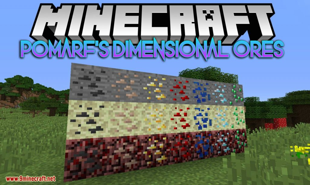 Pomarf's Dimensional Ores Mod 1.12.2 Download