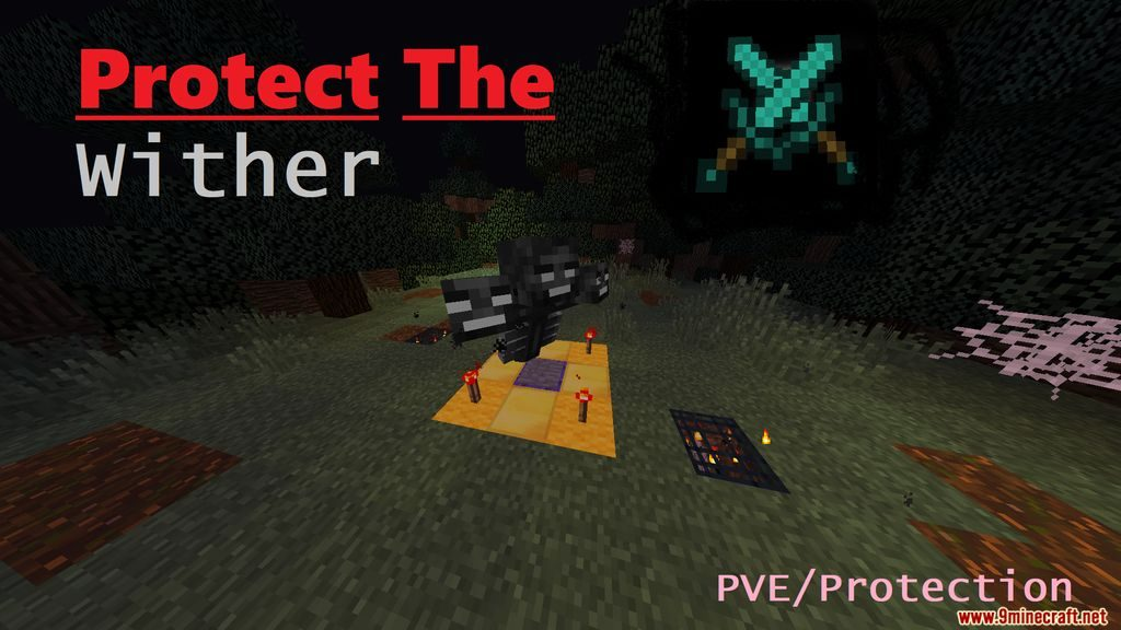Minecraft Protect The Wither Map 1.14.4 Download