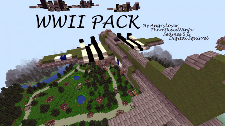 Angry's WWII Resource Pack 1.12.2/1.11.2 Download