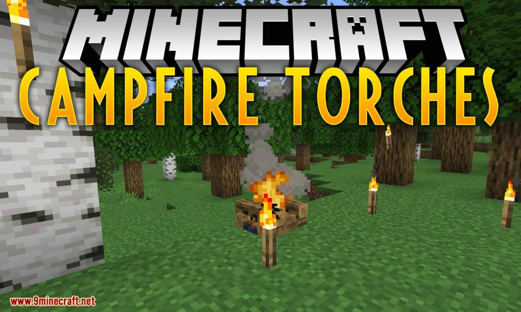 Campfire Torches Mod 1.15.1/1.14.4 Download