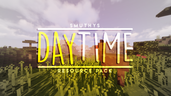 Daytime Resource Pack 1.15.1/1.14.4 Download