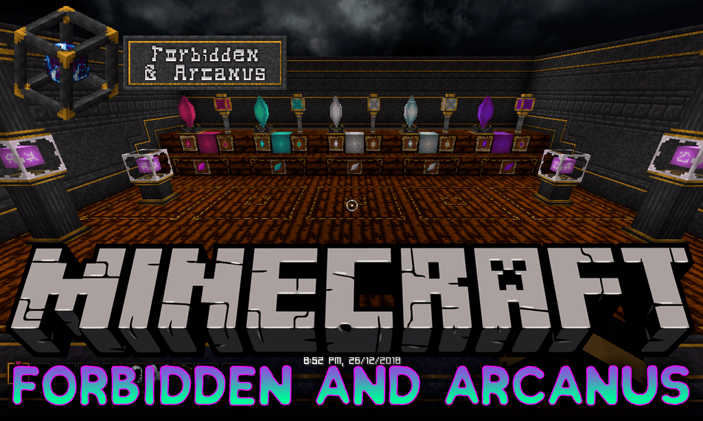 Forbidden and Arcanus Mod 1.15.1/1.14.4 Download