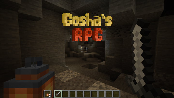 Gosha's RPG First Person Resource Pack 1.15.1/1.14.4 Download