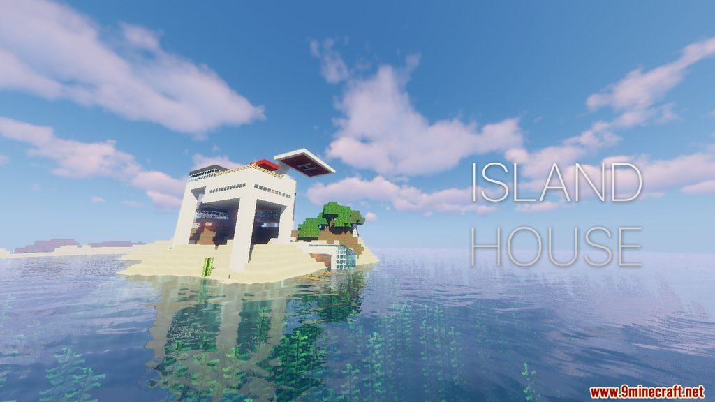 Minecraft island House Map 1.14.4 Download