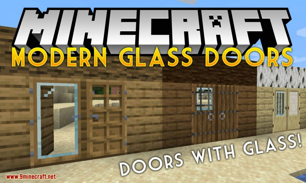 Modern Glass Doors Mod 1.15/1.14.4 Download