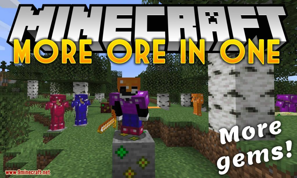 More Ores In ONE Mod 1.15.1/1.14.4 Download
