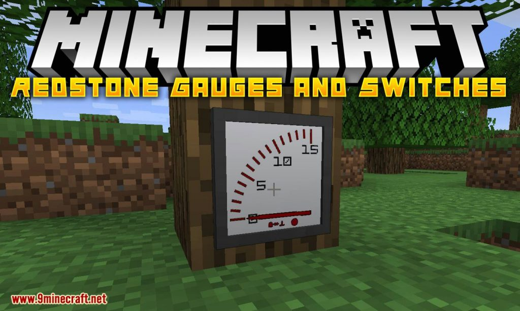 Redstone Gauges and Switches Mod 1.15.1/1.14.4 Download
