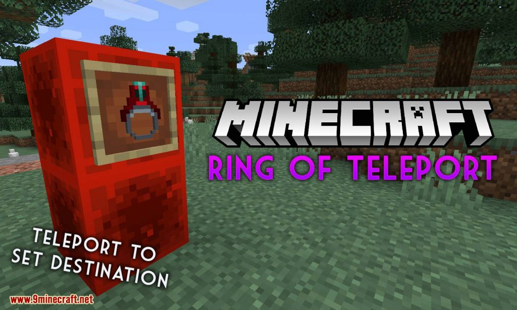 Ring of Teleport Mod 1.15.1/1.14.4 Download