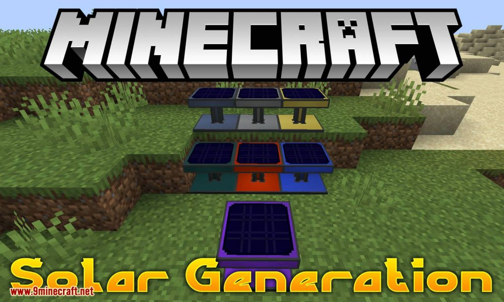 Solar Generation Mod 1.14.4/1.12.2 Download