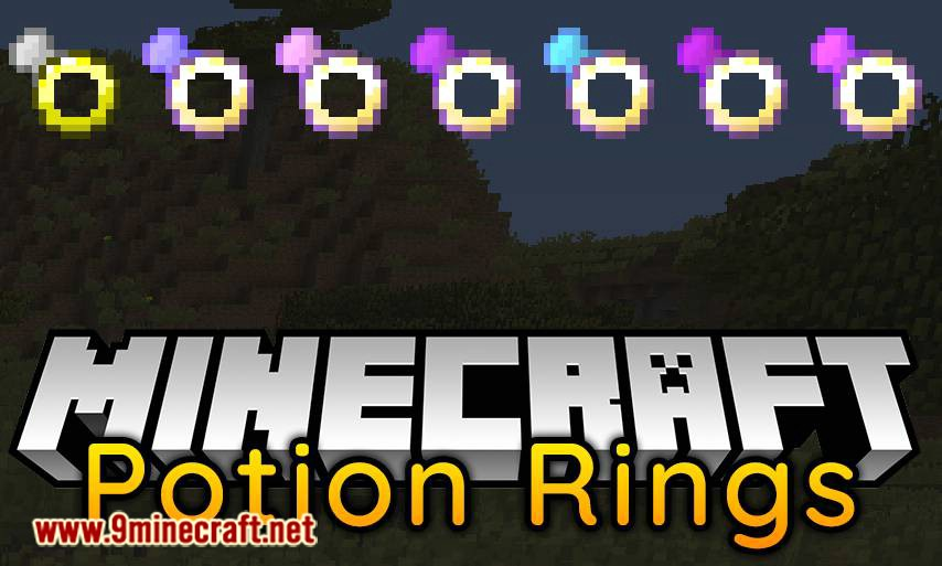 Potion Rings Mod 1.12.2 Download