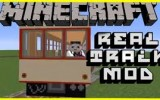 Real Train Mod 1.7.10/1.7.2/1.6.4/1.5.2