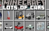 Minecraft Vehicle (Cars, Trucks) Mod 1.7.10