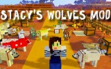 Stacy's Wolves Mod 1.7.10 (Too Many Wolves)