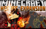 Heroes Expansion Mod 1.12.2/1.7.10 (SuperPowers in Minecraft)