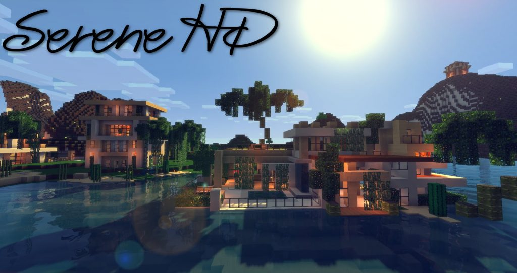Serene HD Realistic Resource Pack 1.14.4/1.13.2 Download