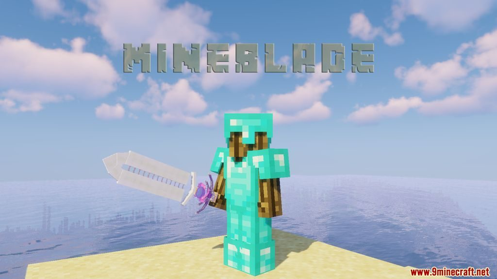 MineBlade Data Pack 1.14.4 Download