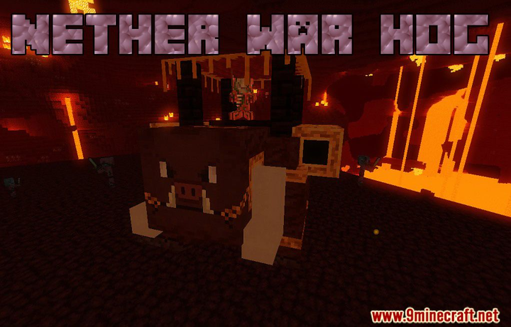 Nether War Hog Data Pack 1.15.1 Download