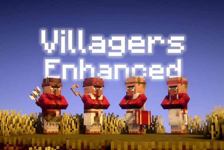 Villagers Enhanced Resource Pack 1.14.4/1.13.2