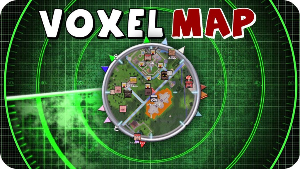 VoxelMap Mod 1.15.1/1.14.4 Download