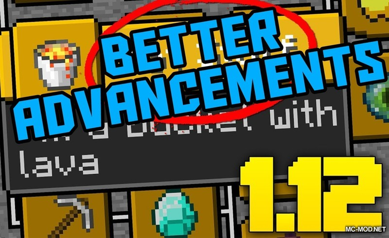 Better Advancements Mod 1.15.1/1.14.4 Download