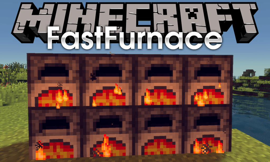FastFurnace Mod 1.15.1/1.14.4 Download