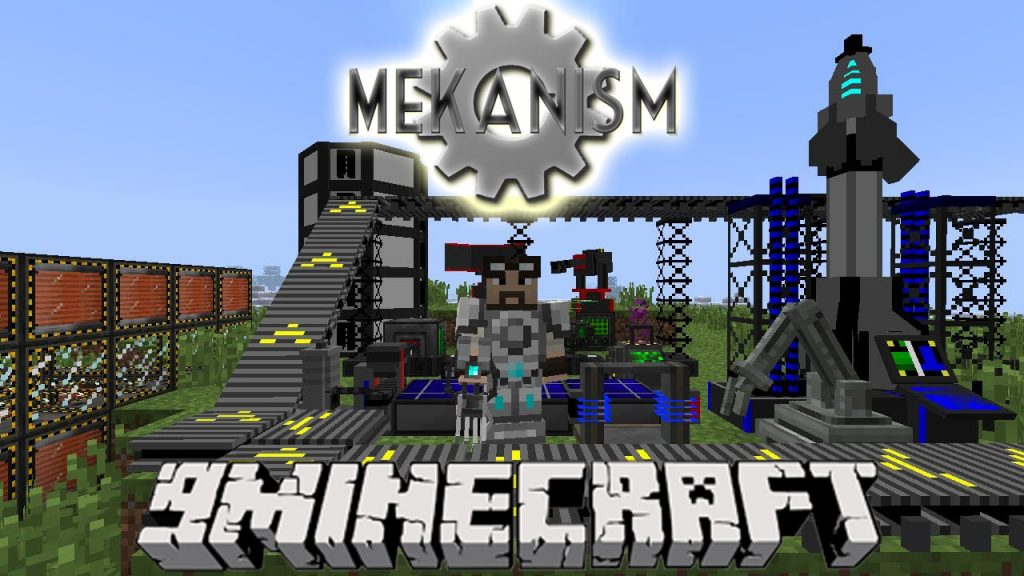 Mekanism Mod 1.15.1/1.12.2  Download