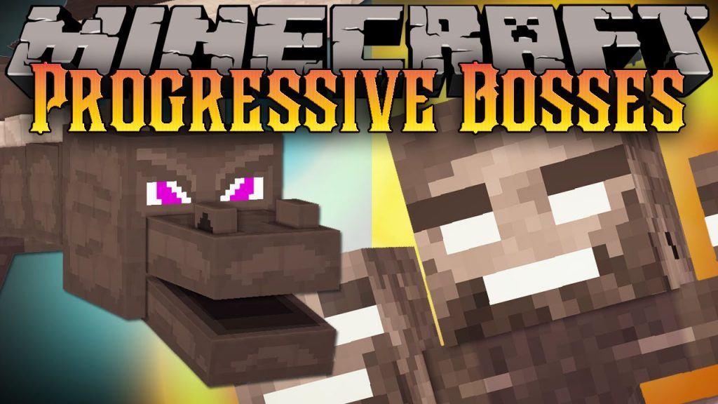 Progressive Bosses Mod 1.15.1/1.14.4 Download
