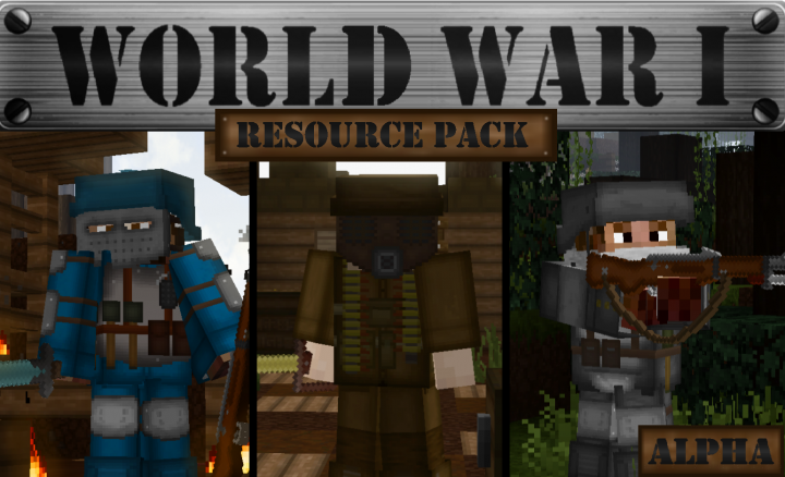 World War I: Resource Pack 1.14.4/1.13.2 Download
